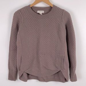✨3/$25✨Kenar Lilac Lambswool Waffle Knit Sweater